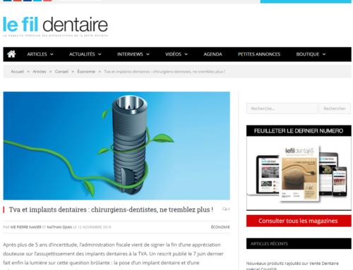 TVA et implants dentaires